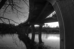Moody Monday (OscarAmos) Tags: sunset blackandwhite reflection water austin landscape texas townlake hdr lightroom 18200mm photomatix tonemapped detailenhancer nikond5100