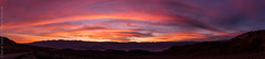 Blazing Sunset Over Panamint Valley (Kurt Lawson) Tags: california park ca sunset sky panorama mountain mountains clouds death nationalpark highway sierra 55mm national valley deathvalley fe 18 sierranevada stitched 190 argus panamint zinchill a7r2