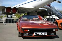 1977 Lamborghini Silhouette (davocano) Tags: brooklands autoitalia yel379s autoitalia2016