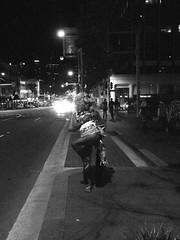 Kings Cross at night - 2012-13 (20) BW (nicephotog) Tags: street city urban night lights evening town cityscape cross sydney australia kings tranny nsw hooker curb crawler soliciting