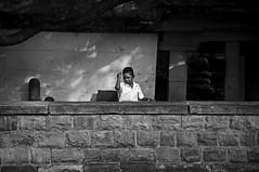 Style (abisheksridhar1994) Tags: street boy bw india nikon child watch ngc style karnataka badami cwc d90 mahakuta chennaiweekendclickers