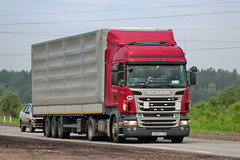 Scania R420  Х 480 РК 190 (RUS) (zauralec) Tags: 480 scania 190 rus r420 х рк kurgancity therouter254irtysh