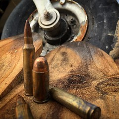 2016 West Virginia IDPA Championship at Peacemaker (PNTC) (zeroflux-dot-com) Tags: abstract square squareformat weathered ammunition cartridge 223 munitions 556 iphoneography liveround instagramapp uploaded:by=instagram