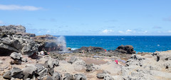 The Blowhole (Igor Sorokin) Tags: ocean travel blue sea sky people panorama usa america lens landscape hawaii us nikon rocks shadows zoom crowd scenic wideangle maui tokina telephoto blowhole dslr sunlit volcanic 1116 d7000