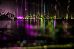 Aliens in Toronto - 20/52 - Explored! (jrobblee) Tags: longexposure toronto canada cityscape nightscape torontoisland weeks centreisland alieninvasion hss slidersunday