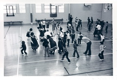 P_151_1_82_05 (NSCDS Archives) Tags: blackandwhite college 1982 dancers country 1980s berea nscds nscdsarchives p151182