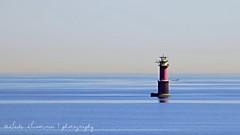 Gulf of Finland/ Golfo de Finlandia (suominensde) Tags: sea lighthouse seascape reflection finland faro mar nikon gulf serene beacon reflexion golfo finlandia sereno lanndscape baliza d5300
