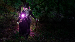 Camille - Welcome to my world (ARI.Photographie) Tags: strange hat forest dark crazy surreal monstre irreal darkbeauty