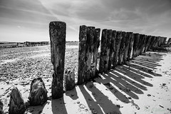 Shadows (PeteWPhotography) Tags: shadow beach contrast groyne lepe
