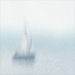 SAILING ON THE RIVER TAY (Stan Farrow Photography) Tags: yacht sails sailing blue river tay blur softness grain yachting