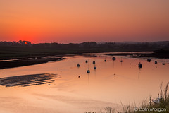 Alnmouth Estuary Sunset, Northumberland. (Splendid What) Tags: sunset sea sky beach boats evening sand village dunes northumberland alnmouth