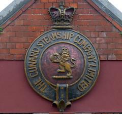 Cunard crest (Tom Kennedy1) Tags: cobh cunard hiddenireland cunardsteamshipcompany