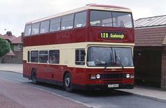 2000-07-05 JTY 384X Leyland Olympian-ECW 655 of East Yorkshire,  Filey (John Carter 1962) Tags: bus buses northern eastyorkshire leylandolympian ngt eyms