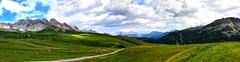 Baita Paradiso (Riccardo_29) Tags: blue sky italy alps verde green nature beautiful beauty clouds landscape italian nikon italia nuvole blu infinity natura cielo infinito alto alpi paesaggio trentino paradiso baita adige moena d3100