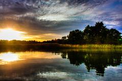 IMG_8946 - Kopie (2)And2more_tonemapped-1 (Andre56154) Tags: sunset sky lake water clouds see wasser sweden schweden himmel wolken ufer schren
