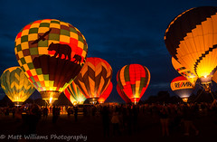 Balloon Festival (Matt Williams Gallery) Tags: county nightphotography blue light summer sky hot scale colors festival night clouds balloons landscape lights nc big nikon colorful wake glow photographer bright cloudy vibrant air bears events crowd north balloon large event carolina designs hotairballoon nightsky bluehour crowds memorialday varina enormous fuquayvarina fuquay d7100 mattwilliamsphotography freedomballoonfestival