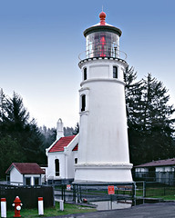 Umpqua River LIghthouse Reedsport (Photographer Paul Peck Strength in Perspective) Tags: lighthouse oregon