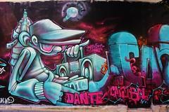 Dante_7185 rue de la Fontaine au Roi Paris 11 (meuh1246) Tags: streetart paris dante casquette paris11 ruedelafontaineauroi canniballetters