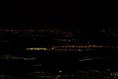 Lights in the distance 3 (zeriphon_the_real) Tags: atnight night dark photo photography dslrphoto dslrphotography nikon nikond7100 zeriphon lights citiesatnight citiesoflight mountainview