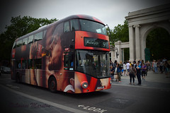 LTZ1159 with Coca Cola wrap at Hyde Park Corner (louisemarston) Tags: uk bus london hydeparkcorner newbusforlondon borisbus lt159 ltz1159