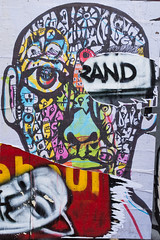 And (Gary Kinsman) Tags: fujix100t fujifilmx100t 2016 w11 london layers poster rip ripped mess chaos advert texture wall tear torn face advertising nottinghill