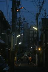 nagoya15611 (tanayan) Tags: night view urban town road street alley aichi nagoya japan nikon j1