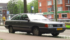 1990 Audi 100 2.3 (C3) (rvandermaar) Tags: 1990 audi 100 23 c3 audi100 audi100c3 audic3 100c3 sidecode4 yy18dh typ 44 typ44