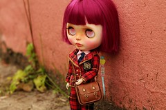 Donut ( Ale plays with dolls Ale-K) Tags: blythe doll toy customblythe customdoll chips factory kawaii japan wip faceup