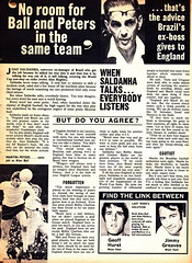 Goal Magazine - 27/06/1970 - Page 28 (The Sky Strikers) Tags: goal magazine world cup special mexico 1970 greatest soccer weekly magzine 1s 6d