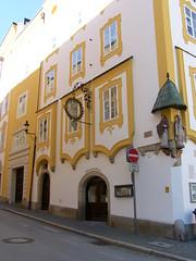 Passau - Stadtbummel (Seesturm) Tags: 2016 seesturm germany deutschland passau bayern bavaria donau inn ilz dreiflüssestadt schiff schifffahrt schiffahrt altstadt dom kirche kirchen church kathedrale cathedral wasser fluss architektur