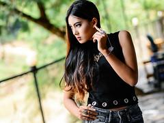 Raven (Miftah Fakhri) Tags: nikon nikor model talent indonesia pose portrait senior girl fashion blog ootd nature