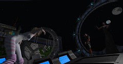 Worlds Of Darkness! (Teddi Beres) Tags: second life sl botany bay scifi science fiction roleplay rp adventure action planet moon danger camp fun