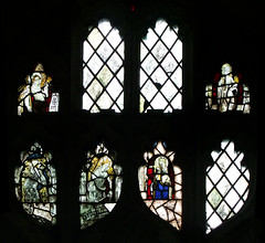 three angels, a martyr and St Helen (Simon_K) Tags: wiggenhall mary magdalene magdalen norfolk eastanglia