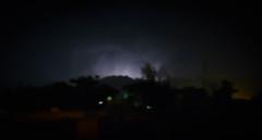 Thunder and Lightening (lone_krusader) Tags: night nikon flash balochistan photoshop d5200 luminance pakistan blue dslr beautiful dark light thunder dim quetta electricity lightroom lightening