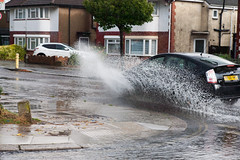 (sinister pictures) Tags: 2016 sinisterpictures gb greatbritain london uk unitedkingdom canon idiotd cars water rain splash speeding northolt middlesex gbr
