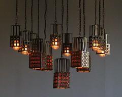 Lights in Entrance Hall (Raven Photographic) Tags: glasgow scotland bellahouston houseforanartlover mackintosh