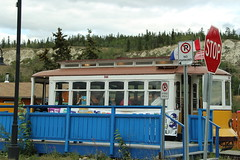 Rotary Park Station (demeeschter) Tags: canada yukon territory whitehorse trolley railway ride attraction transportation waterfront