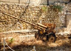 rusty artillery (maskirovka77) Tags: israeldefenseforces idf museum idfmuseum tanks m48 outdoors hdr armoredcar artillery antiaircraft armoredpersonnelcarrier bridgingequipment