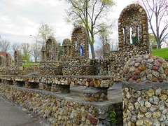 Providence Home Geode Grotto #1 (jimsawthat) Tags: religious grotto smalltown jasper indiana geodes unusual shrines