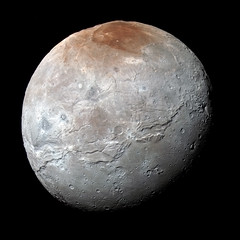 Pluto Paints its Largest Moon Red (NASA's Marshall Space Flight Center) Tags: nasa nasas marshall space flight center new horizons spacecraft pluto charon moon
