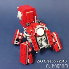 Logicoma! In motion~ (obscurance) Tags: logicoma lego moc ghost in the shell arise logikoma thinkingtank zio afol robot mecha