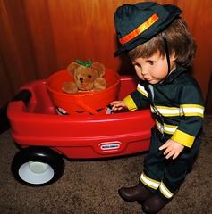 Halloween Costume (marilyntunaitis) Tags: halloween halloweencostume fireman paolareinadoll