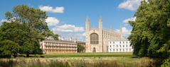 Panorama of King's College in Cambridge (Johannes Valkama) Tags: building college education exterior green summer uk university architecture britain cambridge chapel city england english gothic grass kings lawn old river school tourism tourist traditional