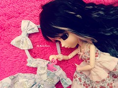 Admirando  ( MarildaHungria ) Tags: helena pullip fanatica regenerationseries groove doll dress outfit cute kawaii love lovely adorable sweetdreams obitsued rewigged