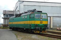 162-216 at Ceska Trebova depot (Karel1999 Over a Million views ,many thanks) Tags: vlak zug locomotives trains diesels ceska trebova