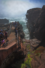 Thunder Hole (Acadia National Park, Maine) (*Ken Lane*) Tags: geo:lat=4432070490 geo:lon=6818859011 geotagged ottercreek unitedstates usa 28300 acadia acadianationalpark acadianationalparkthunderhole atomosphere attraction awesome barharbor barharbormaine beautiful cool eastcoast environment hancockcounty hancockcountymaine lookout maine mdi mountdesert mountdesertisland nationalpark nationalparkattraction nationalparkthunderhole nature nice nikkor28300 nikon nikon28300 northeastatlantic northeastunitedstates northeasternunitedstates observationpoint ocean outdoor overlook rock rockformation rockyshore scenicoverlook scenicview sea seaside serene shore sightseeing sky thunderhole thunderholeacadia touristattraction tourists travel travelphotography water watercavern