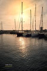 (348/16) Puerto Deportivo de Almerimar (Pablo Arias) Tags: pabloarias photoshop nxd cielo nubes texturas bote velero litoral agua mar mediterrneo mstiles almerimar elejido almera comunidaddeandaluca