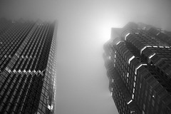 lost in the fog (Ian Muttoo) Tags: dsc72371edit bw toronto ontario canada gimp ufraw nuitblanche 2016 nuitblanche2016 nbto16 street