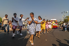 Dancing in the Street - Goa (Anoop Negi) Tags: goa india panaji carnival carnevale panjim parade paegentry dance dancing street photo photography anoop negi ezee123