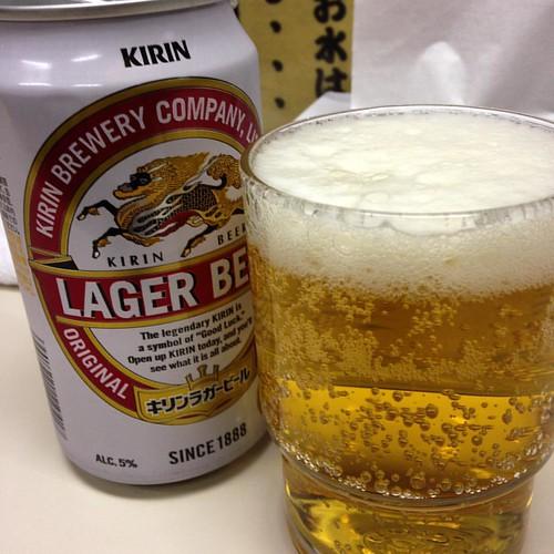 ビール、セルフ!